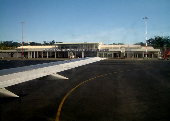 Bauerfield International Airport in Port Vila