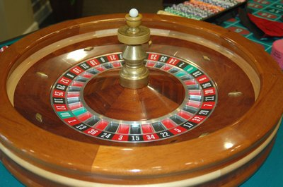 Casinos roulette wheel