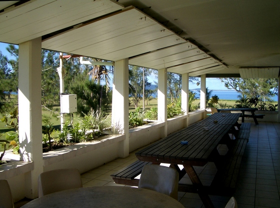 The Club House at Port Vila Golf and Country Club