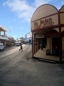 Ma Barkers Steak House in Port Vila