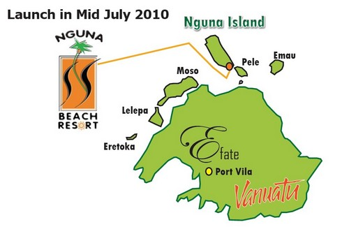 Nguna Beach Resort map