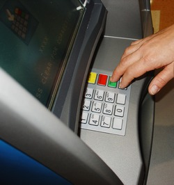 Use ATM for cash withdrawals