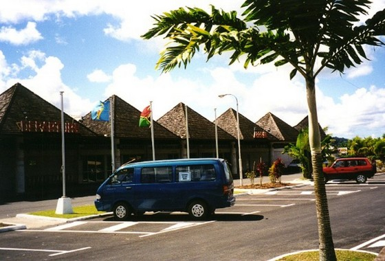 Bauerfield International Airport, Port Vila, Vanuatu