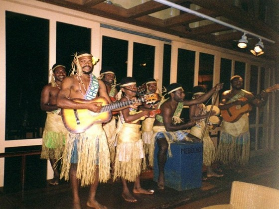 Music string band in Vanuatu